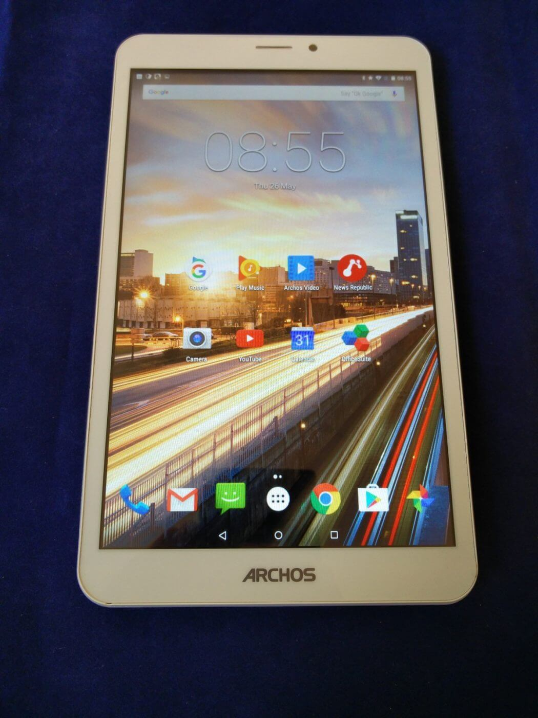 Archos 80b Helium Tablet Front