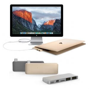 HYPER USB Type-C Hub with Mini DisplayPort support