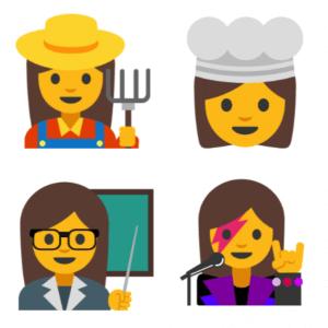 Professional Women Emoji 2
