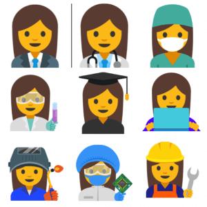 Professional Women Emojis 1