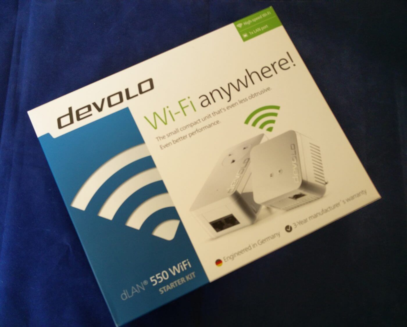 Devolo 550 Starter Kit Box