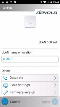 Devolo dLAN 550 details