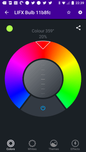 LIFX Colour Wheel