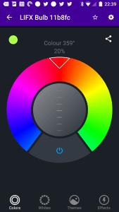 LIFX Colour Wheel