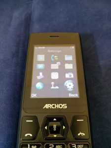 Archos F24 screen