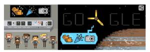 Google Doodle Juno Reaches Jupiter
