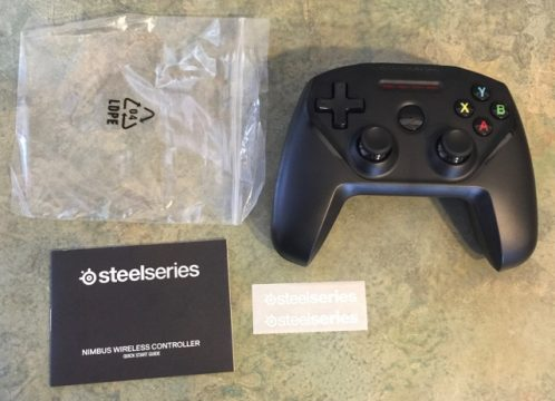 SteelSeries Nimbus unboxing