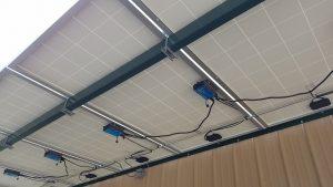 Solar Porch Canopy