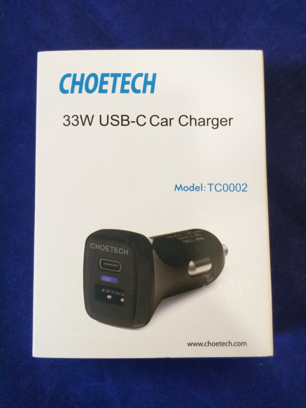 Choetech Car Charger Box