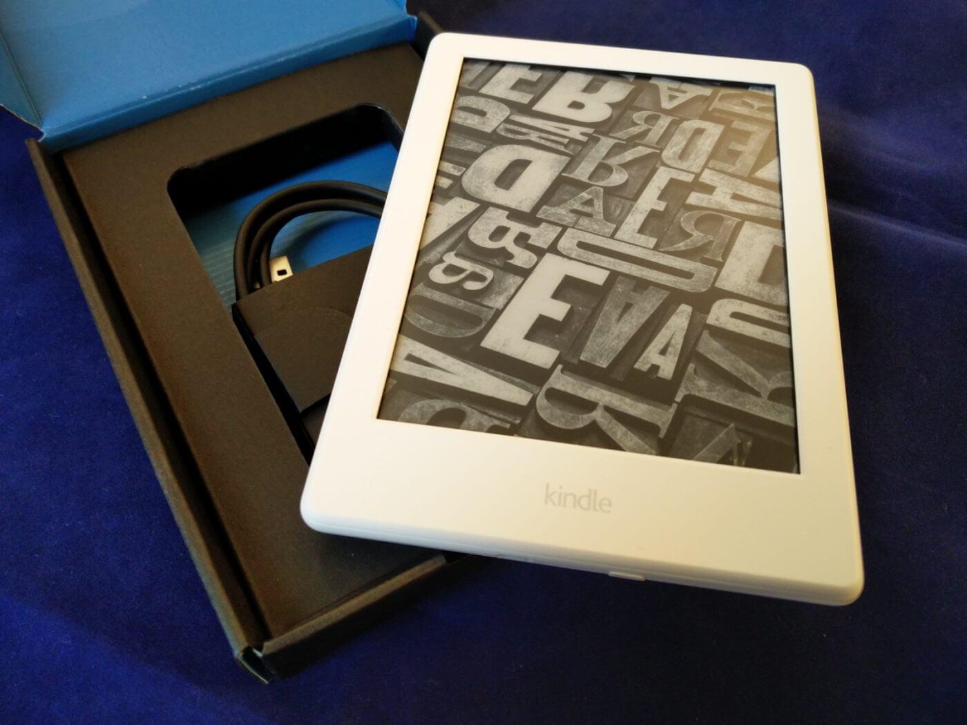 Amazon Kindle with Box