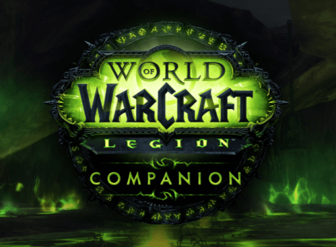 World of Warcraft Legion Companion App