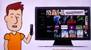 Fire TV Stick Cartoon