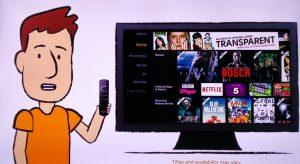 Fire TV Stick Cartoon