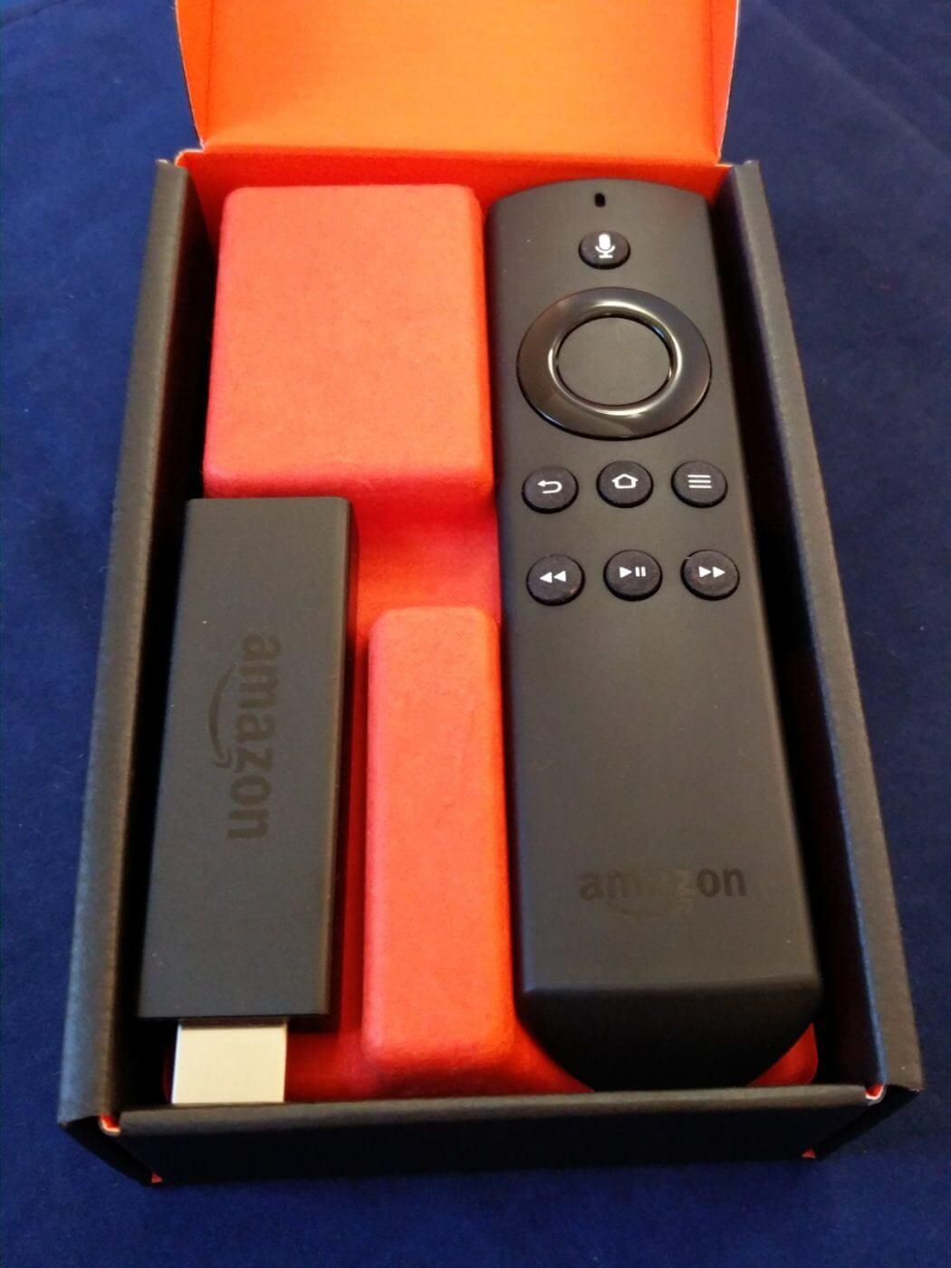 Fire TV Stick in Box