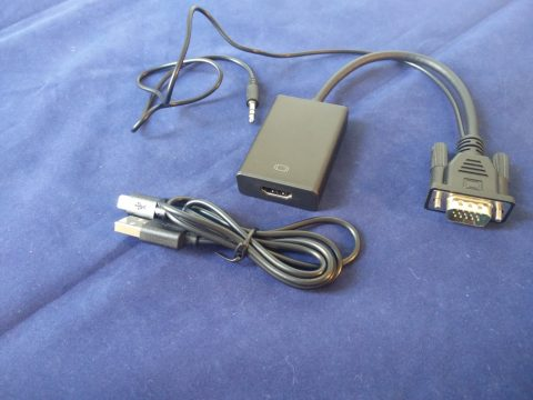 Topop VGA-to-HDMI converter