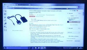 Topop VGA to HDMI converter