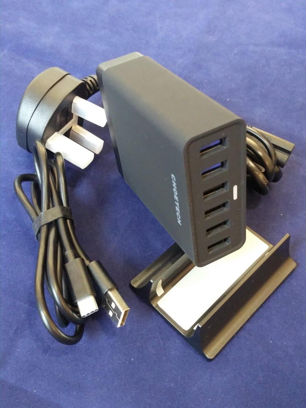 Choetech 50W 6 port charger