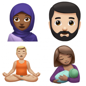 Image result for Apple previews new emoji coming later this year