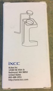 iXCC Stand Diagram