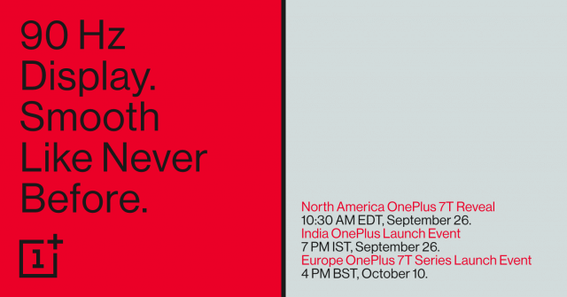 OnePlus Launch Notice