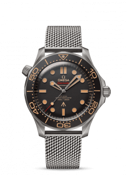 Omega Seamaster Watch with mesh bracelet