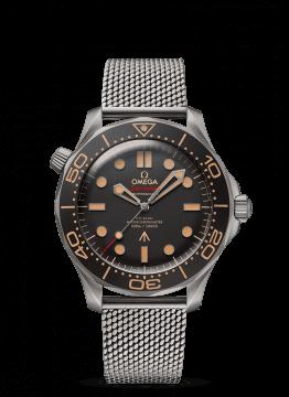 Omega Seamaster Watch with mesh bracelet