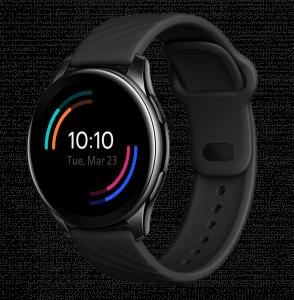 A Black Smart Watch