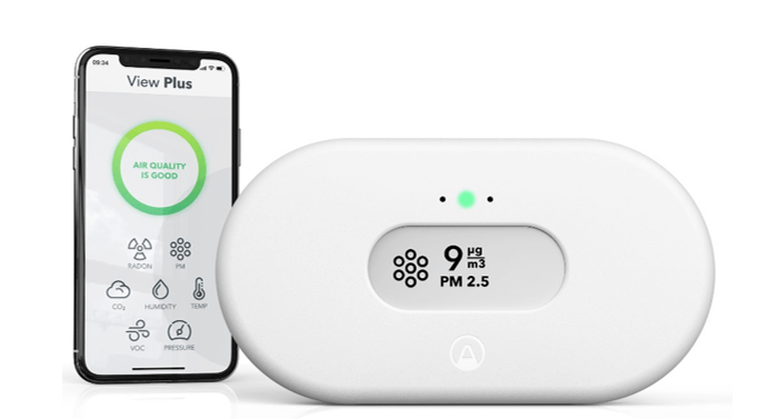 Airthings View Plus Smart Air Monitor